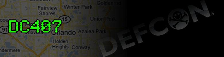 DC407 | Orlando Area DEFCON Group
